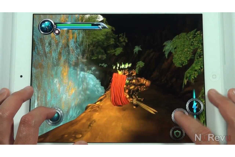 THOR: Son of Asgard for iPad - App Review - YouTube
