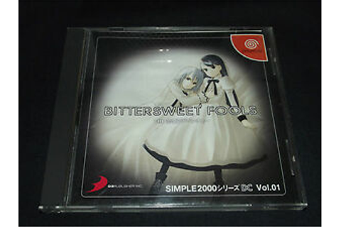 Bittersweet Fools: The Renai Adventure for Sega Dreamcast ...