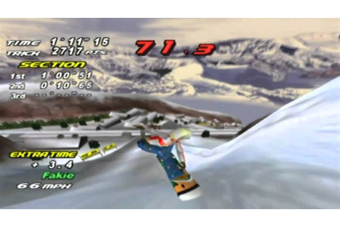 Rippin' Riders Game Sample - Dreamcast - YouTube