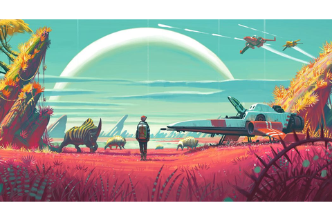 No Man's Sky confirmed for August release on PS4 - VG247