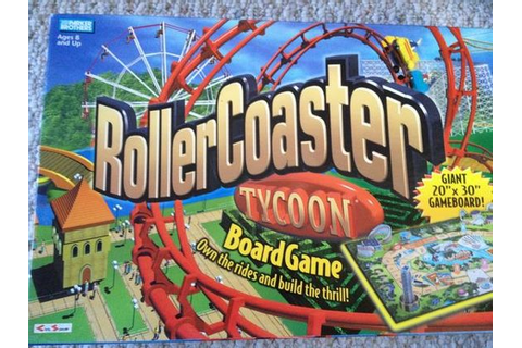 Roller Coaster Tycoon Board Game via @JAStokesNJ | Board ...