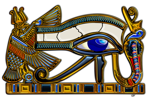 Sacred Symbols 3D: The Eye of Horus