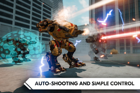 ROBOT WARFARE ONLINE Mod Unlock All | Android Apk Mods