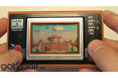 FIRE ATTACK ID-29 - Nintendo Game & Watch - YouTube