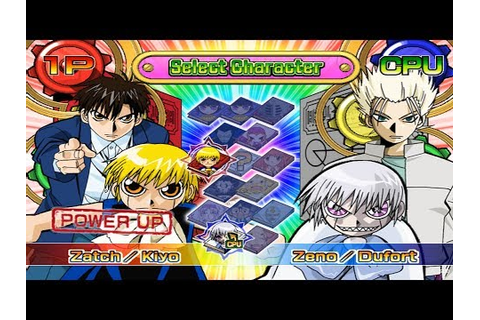 Zatch Bell! Mamodo Battles All Characters [PS2] - YouTube