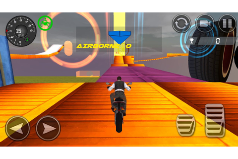 Impossible Stunts Bike Racing Games 2018 Sky Road Android ...