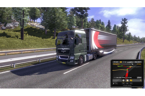 Euro Truck Simulator 2 Highly Compressed PC Game Free ...