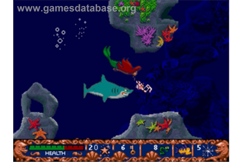 Ariel the Little Mermaid - Sega Nomad - Games Database