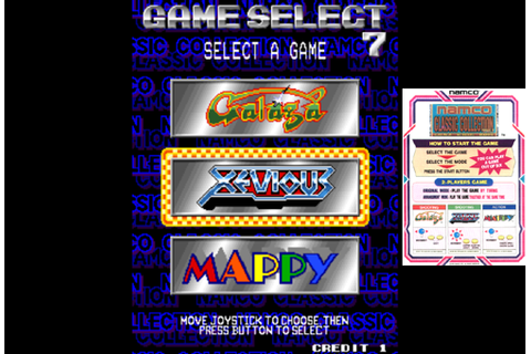 Namco Classic Collection Vol.1 ROM
