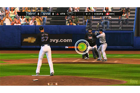Major League Baseball 2K8 Xbox 360 Gameplay - - YouTube