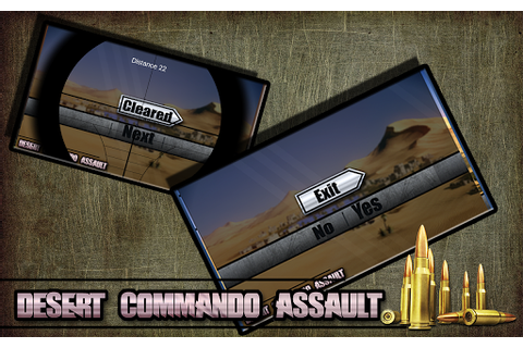 Download Commando Desert Assault: Army for PC