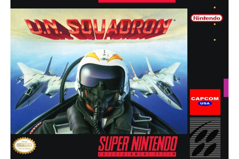 Play U.N. Squadron (Area 88) on Super Nintendo (SNES | Area 88