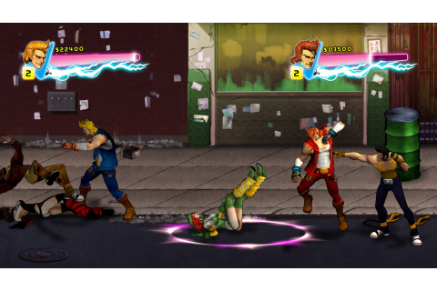 Download Double Dragon: Neon Full PC Game