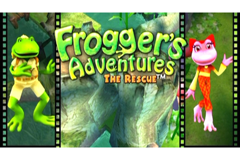 Frogger's Adventures: The Rescue ... (PS2) - YouTube