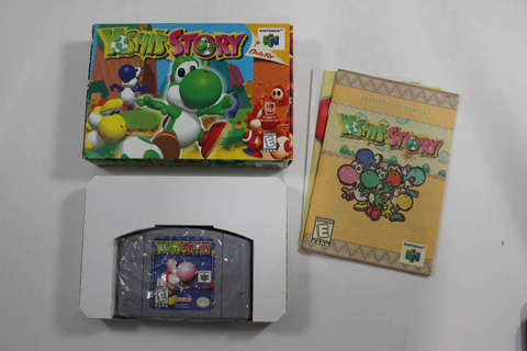 YOSHI'S STORY- NINTENDO N64 Game! COMPLETE