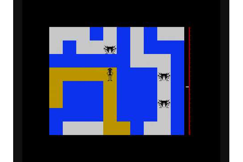 Maziacs - ZX Spectrum Longplay - YouTube