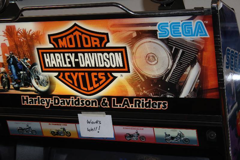 Sega Harley-Davidson & L.A. Riders Arcade Game | Maple ...