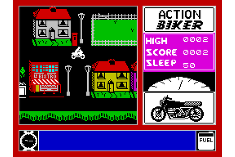Action Biker | Top 80's Games