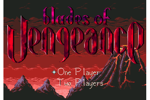 Blades of Vengeance (1993) by Beam Software for Mega Drive