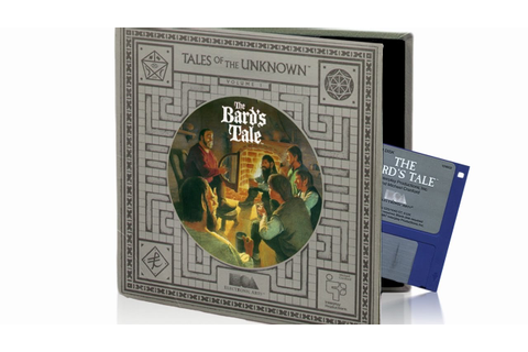 "Game's box of ""The Bard's Tale"" comes to life... - YouTube"