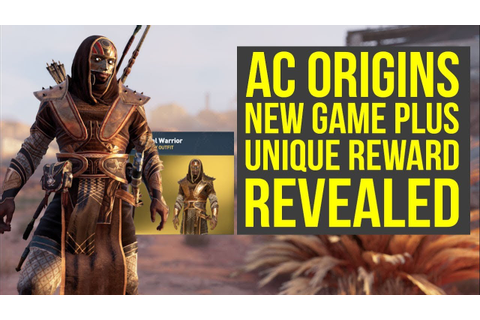 Assassin's Creed Origins New Game Plus Reward REVEALED ...