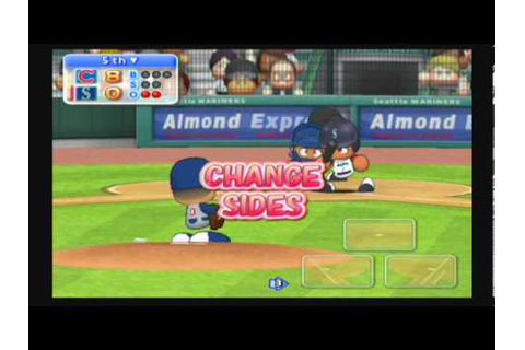 MLB Power Pros 2008 (Wii) World Series Game #4 Cubs ...