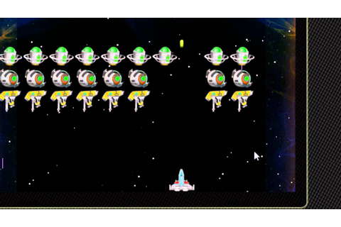 free space invaders game online - YouTube