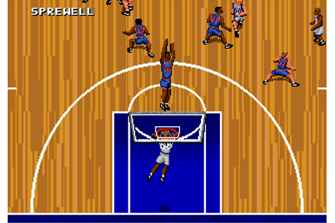 Play NBA Action '95 Starring David Robinson Online - Play ...
