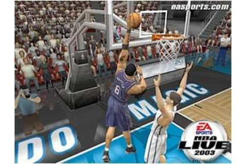 NBA Live 2003 - Download