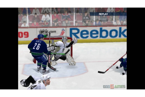 NHL 09 - Gameplay PS2 (PS2 Games on PS3) - YouTube