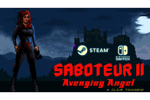 ZX Spectrum game Saboteur II: Avenging Angel coming to ...