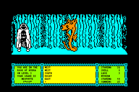 Heavy on the magick by Gargoyle games on Amstrad CPC (1986)