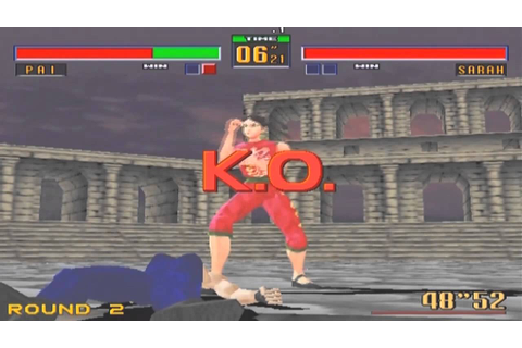 Virtua Fighter 2 [バーチャファイター2] Game Sample - Playstation 2 ...