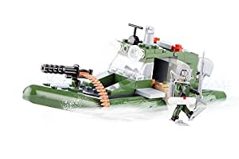 Amazon.com: COBI Small Army River Patrol Boat: Toys & Games