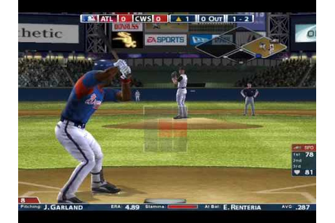 MVP Baseball 2005 Gameplay - YouTube