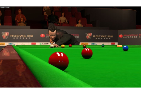 WSC Real 09: World Snooker Championship - screenshots ...