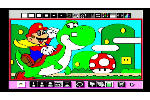 Let's Mario Paint: Coloring Book, Animations, Piano, & Fly ...