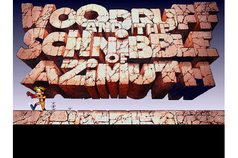 Woodruff and the Schnibble of Azimuth (1995) by Coktel ...