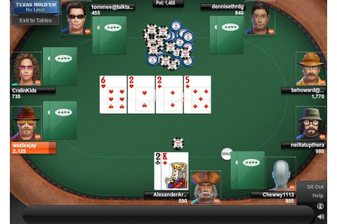Game of the Day: Texas Hold'em Poker (No Limit) - AOL Games