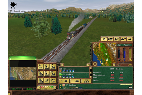 mark@theinternet:~$ - Why I love... Railroad Tycoon 3