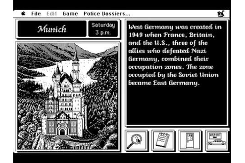 Where in Europe Is Carmen Sandiego? (Macintosh) - YouTube