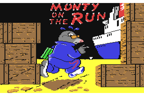 Monty on the Run (1985) C64 game