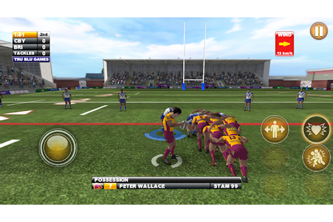 Download Android Game Rugby League Live 2: Gold for ...