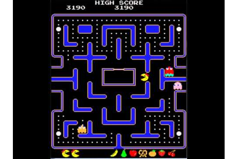 Ms. Pac-Man MAME : Slow Junior Board - YouTube
