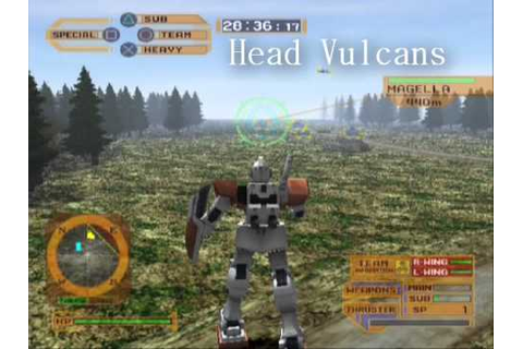 Gundam Lost War Chronicles: RGM-79 GM Demo - YouTube