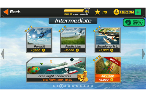 Flight Pilot Simulator 3D Android Game - Intermediate ...