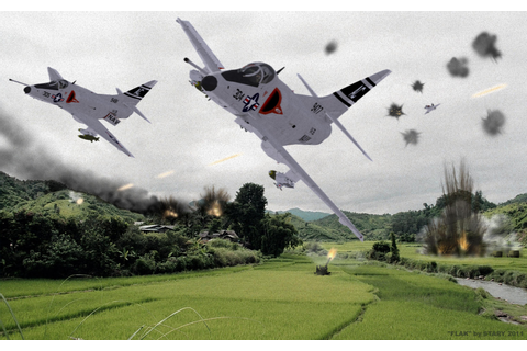 Strike Fighters 2: Vietnam, photoshopped - SimHQ Forums