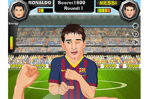 Play Ronaldo vs Messi Fight game online - Y8.COM