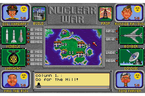 Top 10 Nuclear War Simulation Games Of All Time | Stillunfold