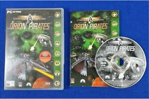 pc STAR TREK Starfleet Command ORION PIRATES Game REGION ...